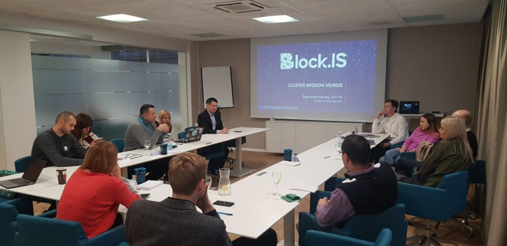Block.IS Cluster Mission Vilnius