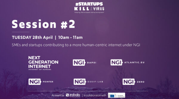 Session 2: SMEs and startups contributing to a more human-centric internet under NGI
