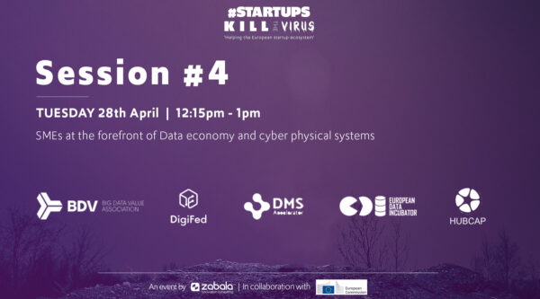 Session 4: SMEs at the forefront of Data economy and cyber physical systems